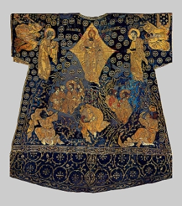 The Dalmatic of Charlemagne back